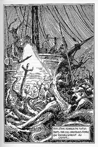 I pirati fantasma immaginati da Philippe Druillet