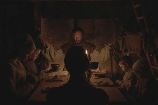 La cena della famiglia in The Witch di Robert Eggers