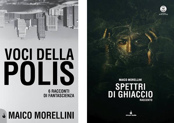 Spettri di Ghiaccio e Voci della Polis sono le nuove pubblicazioni Vincent Books