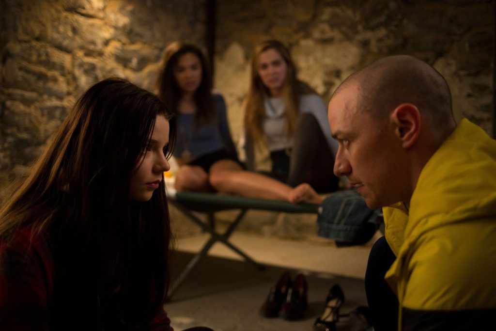 James McAvoy e Anya Taylor-Joy