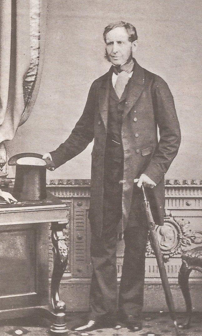 Il vice ammiraglio Robert Fitzroy